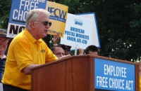 Joe Hansen of the UFCW