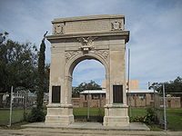 Bywater's McCarthy Square Arch