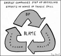 BP blame game