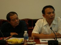 Vietnamese Organizers exchanging with the Organizers' Forum of 2010