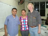 Honduran ACORN Organizers and Wade