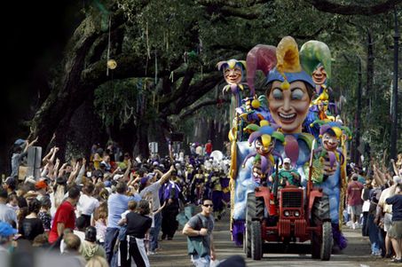 """The Greatest Mardi Gras Illusion: The Happiness of the Poor"""""""