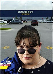 Belva Whitt from the original Wal-Mart Workes Association