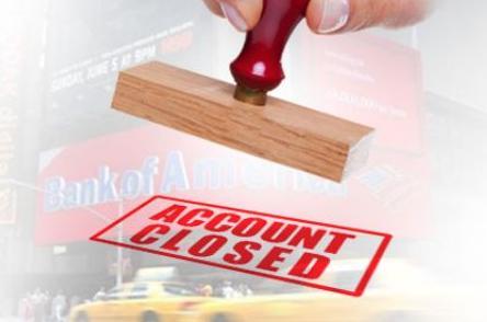 closure of account