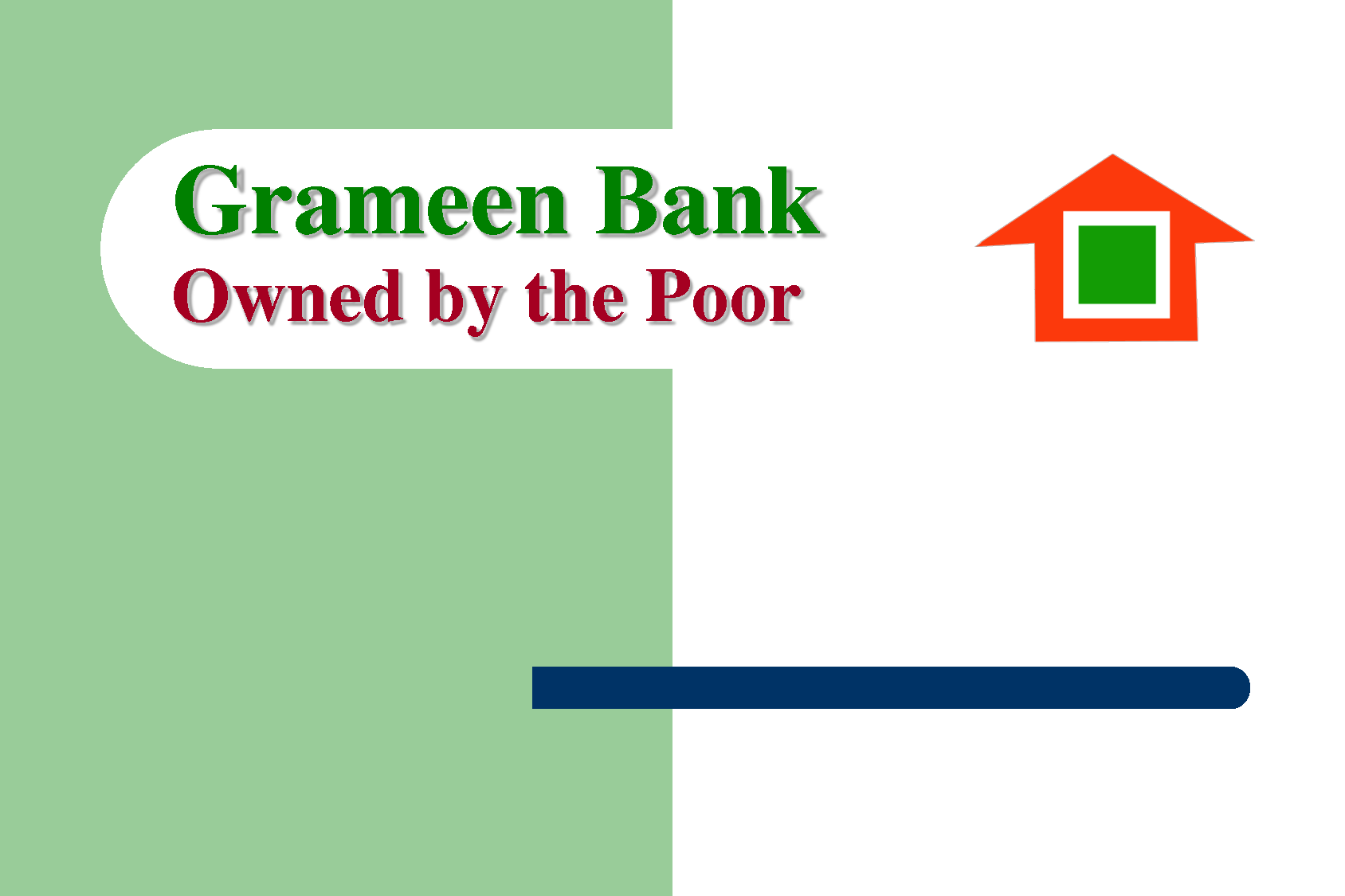 challenging the vision grameen bank He was able to take the grameen bank from a single branch and help it grow larger and larger as an organizational consultant despite the ongoing natural calamities that plague bangladesh but he was the one who showed the world that they could work on a large scale.