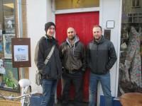 ACORN Bristol Crew from left to right: Louie Herbert, Nick Ballard, and Stu Elliot