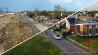 Lower 9th Ward before and after