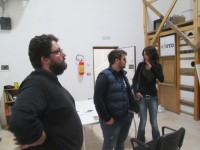 Roberto Covolo and others in the XFoto space