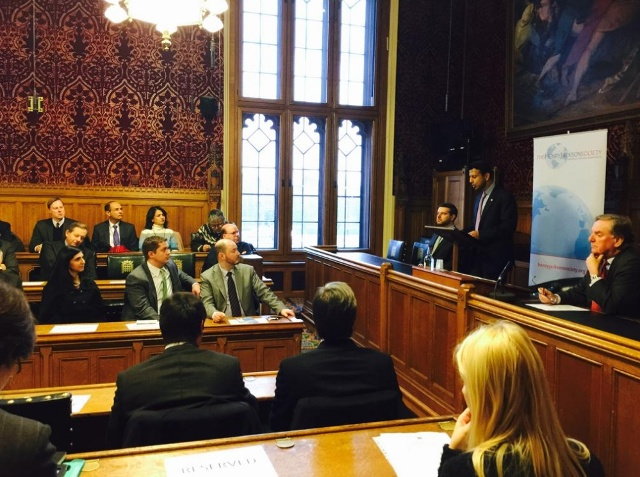Governor Jindal Speaks to Members of Henry Jackson Society in London