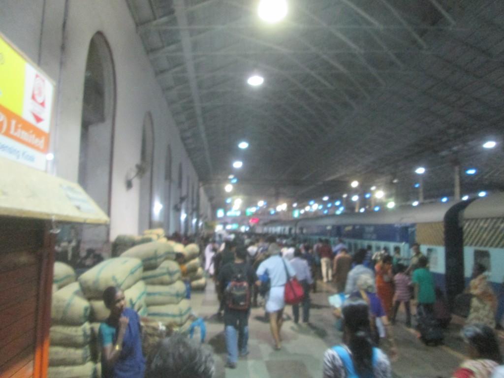 Chennai train station