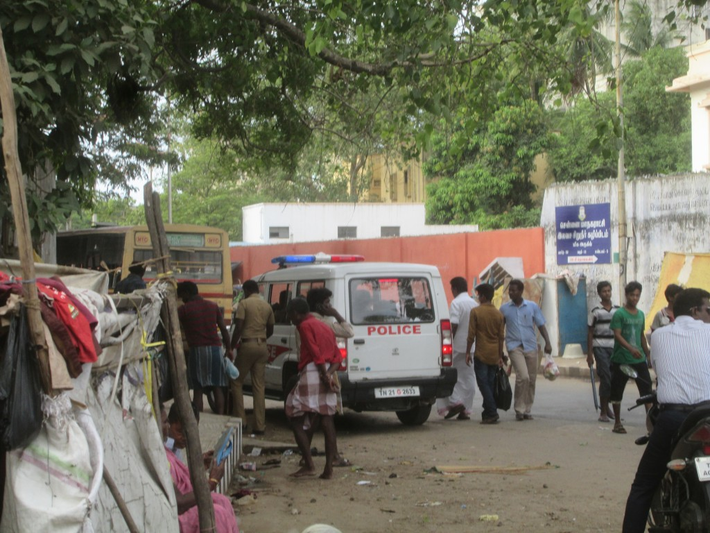 bus transfer station market in Chennai