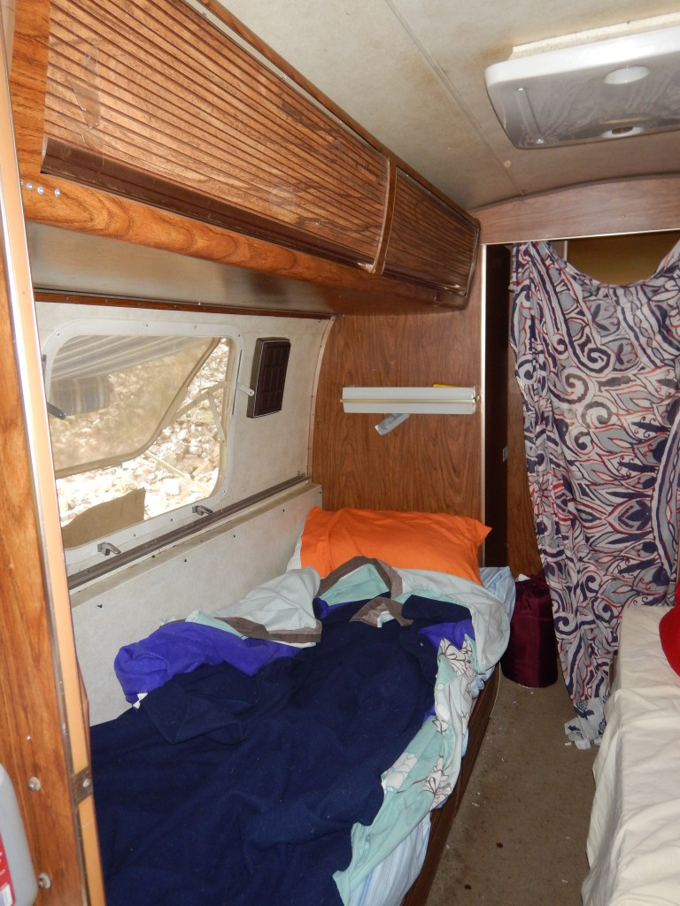 Inside of an airstream
