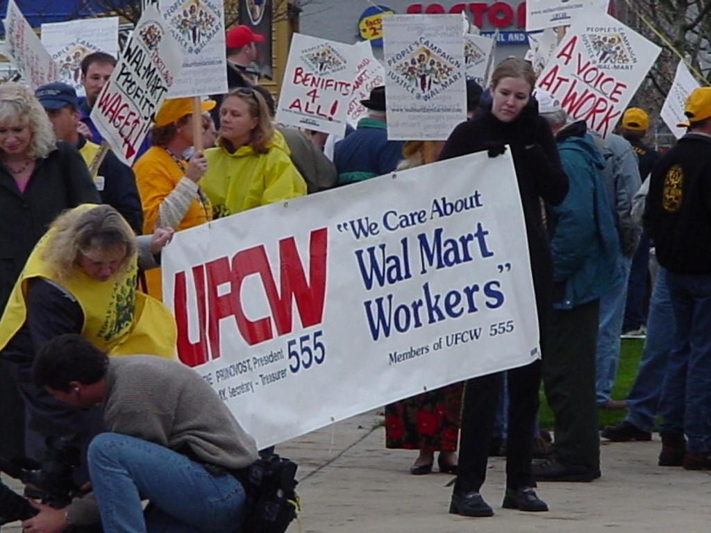 UFCW-Walmart-Protest