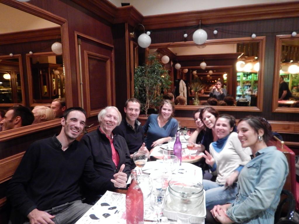 last dinner in Grenoble