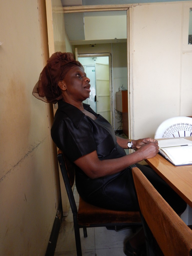Florence Juma, one of the senior community organizers