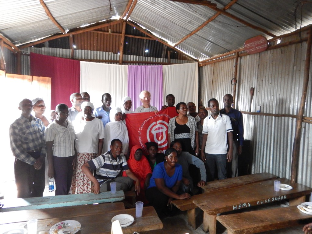 some of the ACORN members after a meeting in korogcho