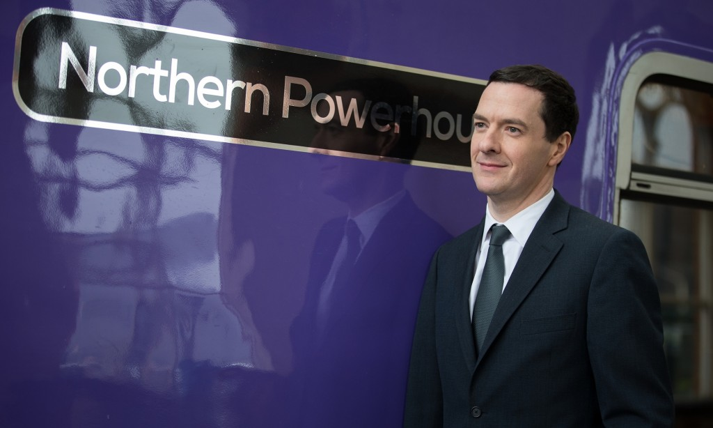 CGeorge Osborne's northern powerhouse policy has given Greater Manchester a £6bn health and social care budget and powers over transport, police and housing. Photograph: Joel Goodman/PA