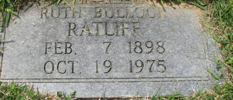 Grandmother's Gravestone