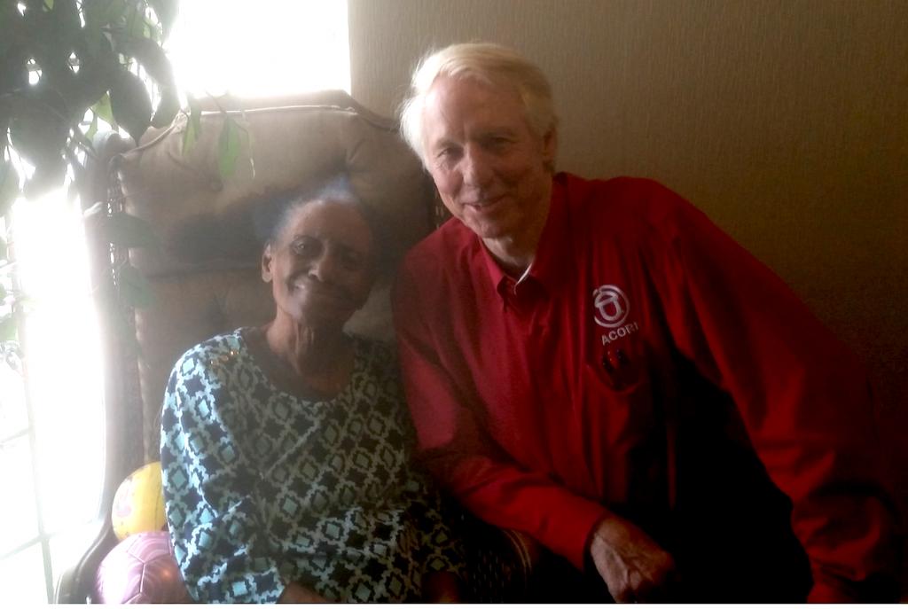 Susie Thomas, Pine Bluff ACORN leader, 102 years old