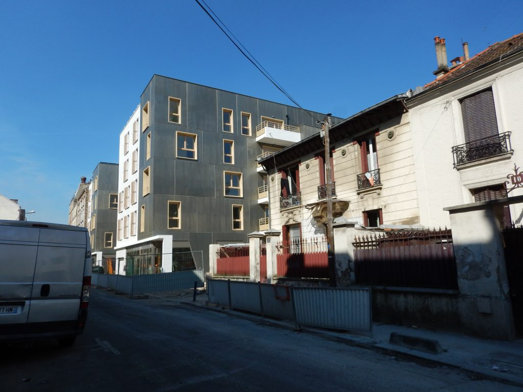 example of french housing scheme -- tearing down old to replace with mixed income