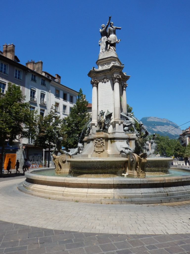 Plaza in Grenoble