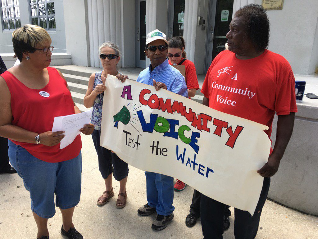 ACV action on Lead in Water in NOLA Schools