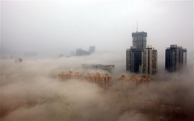 "Air pollution has become ""the fourth biggest threat to the health of Chinese people"" Photo: Getty Images"