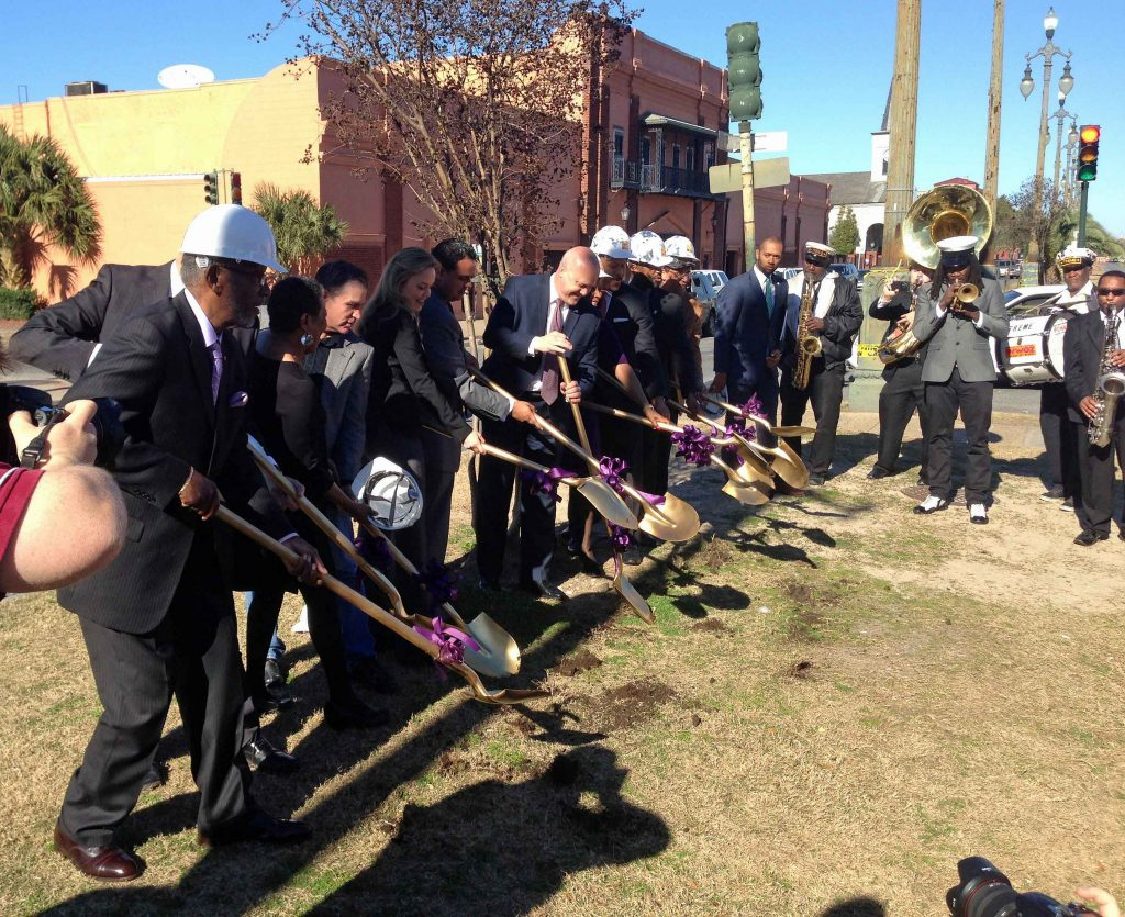 New Streetcar Line St. Claude Groundbreaking