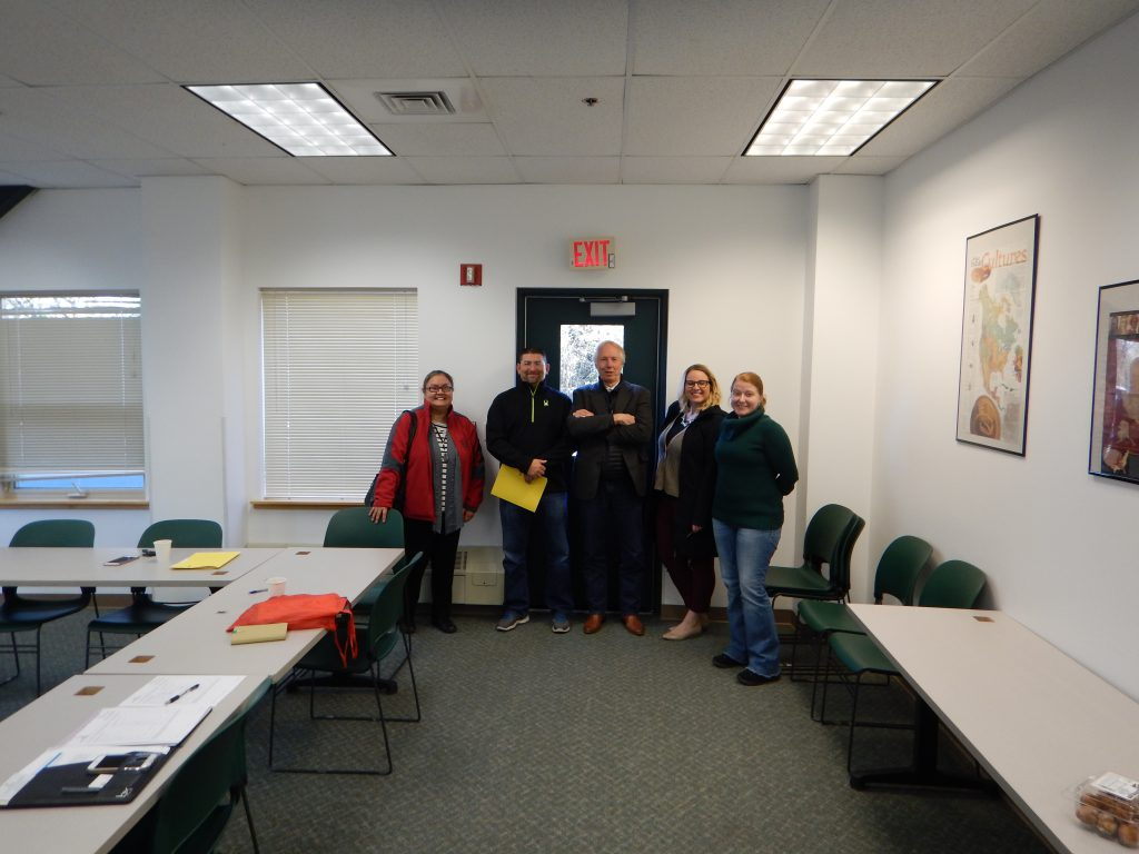 picture of the MCAN board after the 1st meeting