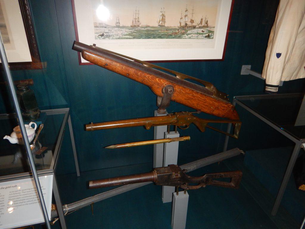 whaling guns