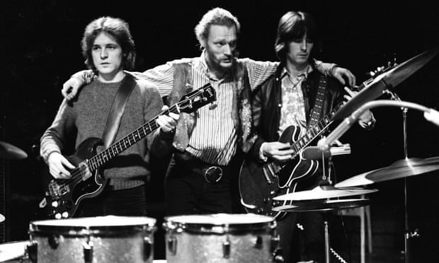 Ginger Baker, Eric Clapton, and the Cream