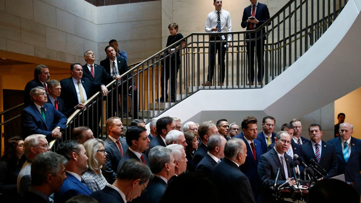 Protest by the Powerless…Congressmen